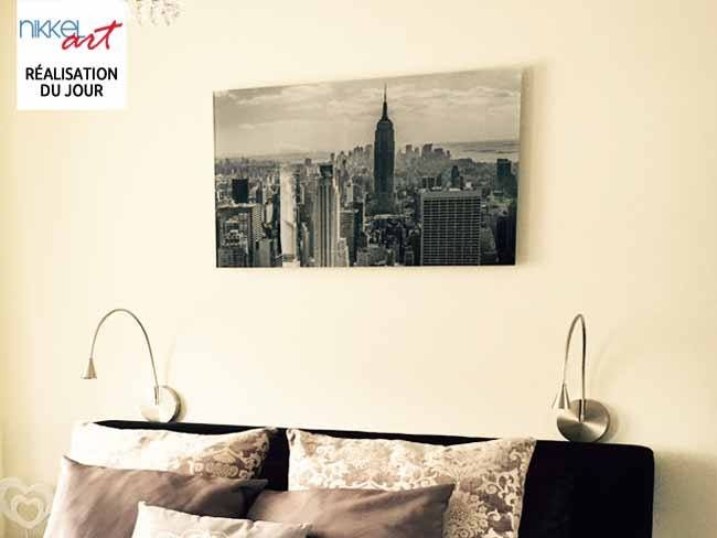 photo sur plexiglas new york. Black Bedroom Furniture Sets. Home Design Ideas