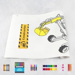 Rouleau de dessin machines de construction