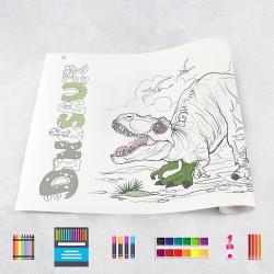 Rouleau de dessin dinosaures 2