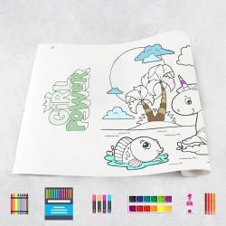Rouleau de dessin filles 1