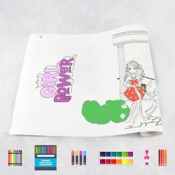 Rouleau de dessin filles 3