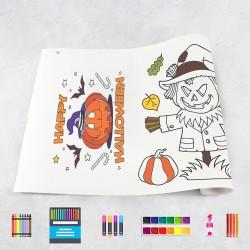 Rouleau de dessin Halloween 1
