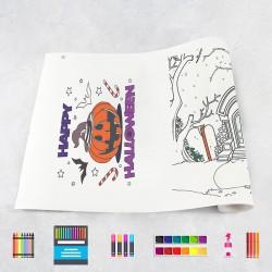 Rouleau de dessin Halloween 2