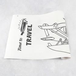 Rouleau de dessin avions 2