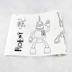 Rouleau de dessin robot