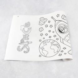 Rouleau de dessin espace