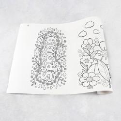 Rouleau de dessin printemps
