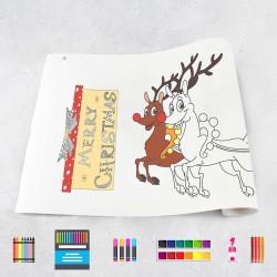 Rouleau de dessin Noël