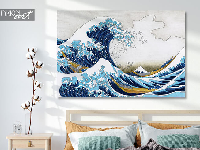 Photo sur Aluminium Hokusai The Great Wave Of Kanagawa