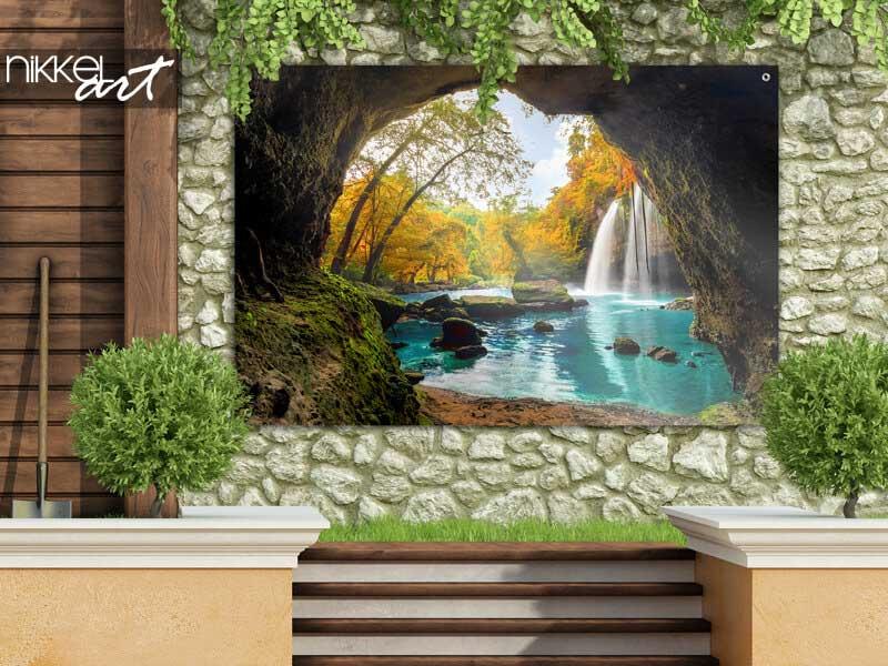 Poster de jardin Heo Suwat Cascade