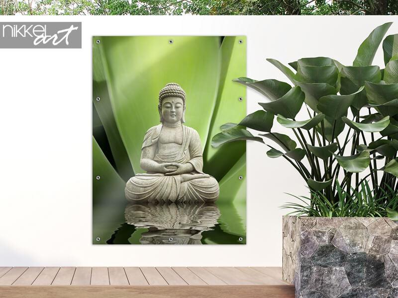 Poster de jardin Bouddha et Sérénité