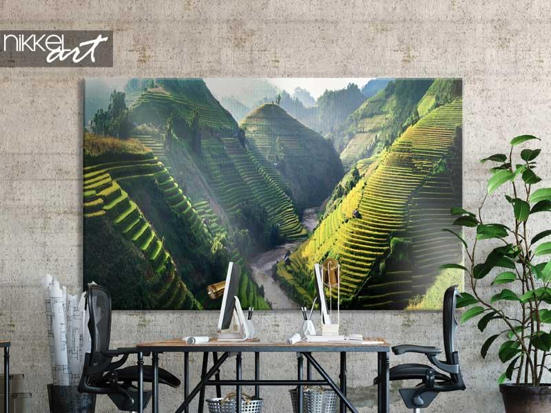 Photo sur toile Rizières en terrasses au nord-ouest du Vietnam