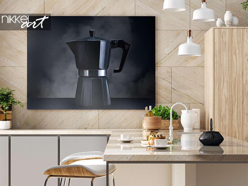 Photo sur Aluminium Percolateur à café