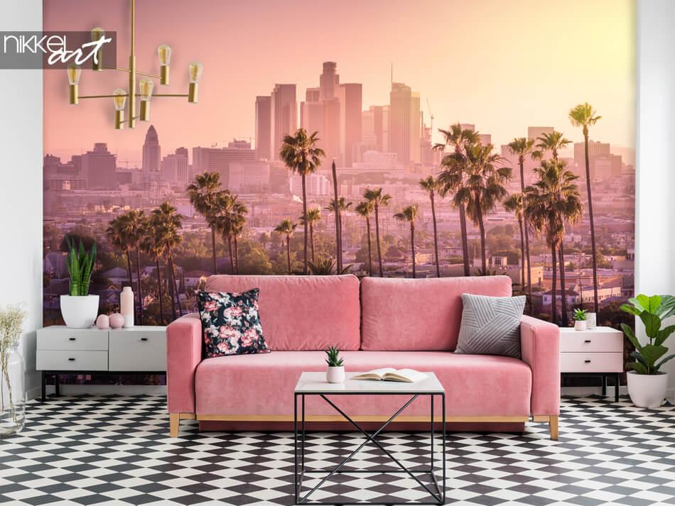 Murale papier peint Los Angeles