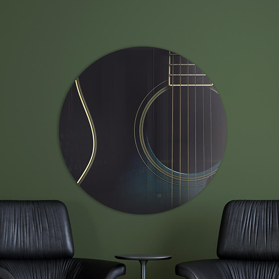 Photo sur Aluminium Guitare