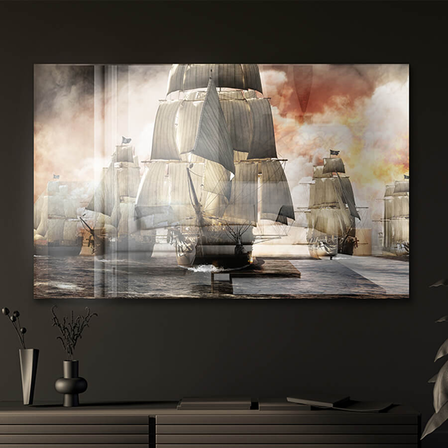 Photo sur Plexiglas navire pirate
