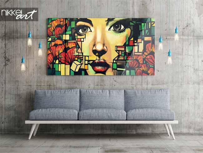 street style la maison imprimer une photo sur plexiglas. Black Bedroom Furniture Sets. Home Design Ideas
