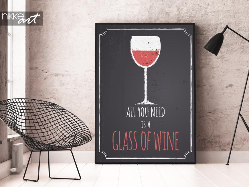 poster vintage vin