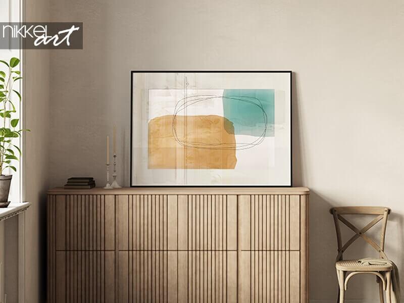 Art mural: posters minimalistes