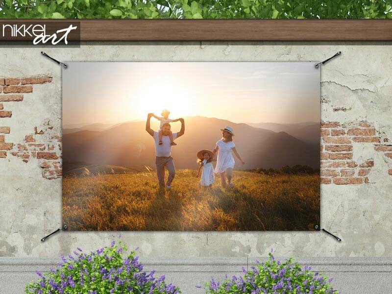 Imprimez votre photo personnelle comme poster de jardin
