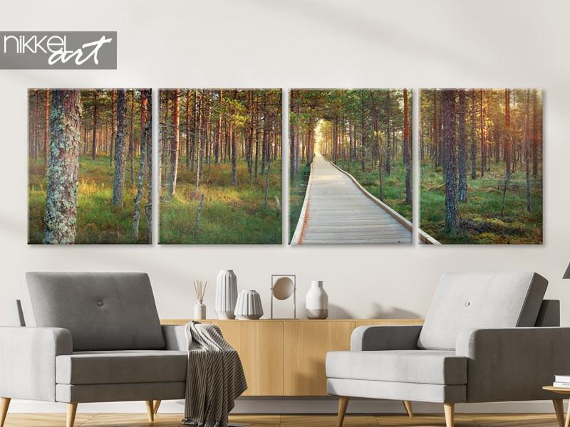 Des photos panoramiques sur toile adaptées à votre intérieur