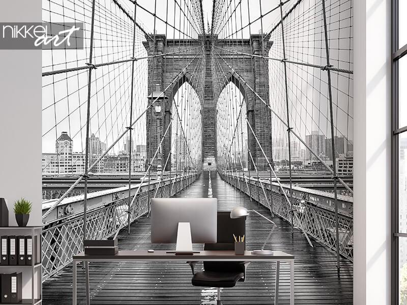 VIDÉO : comment appliquer du papier peint photo