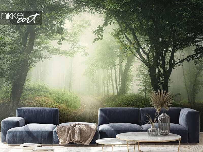 Agrandissez votre maison avec du papier peint photo de paysage
