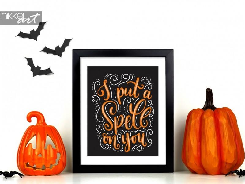 Complétez votre décor de fête d'Halloween avec ces affiches fantasmagoriques
