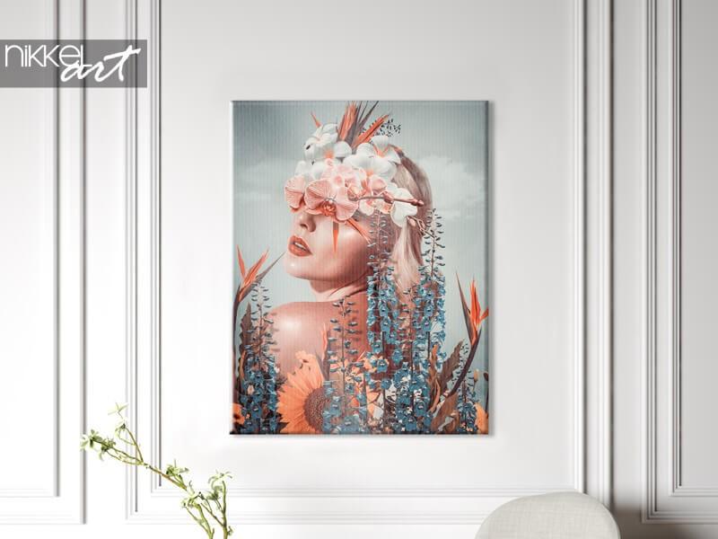 Une photo sur toile n'est pas chère et belle