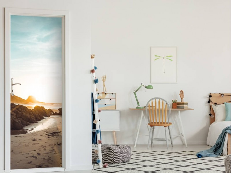 Transformez vos portes en joyaux avec des autocollants pour la porte