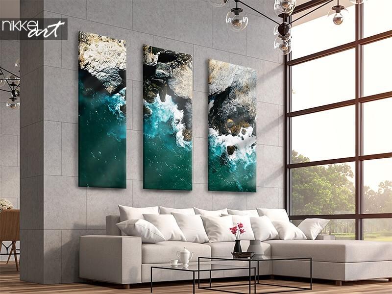 Quelque chose de spécial sur votre mur ? Optez pour une toile en 3 pièces