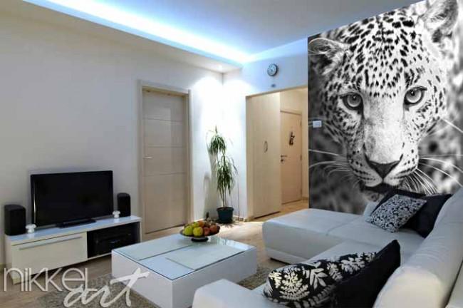 papiers peints photo leopard. Black Bedroom Furniture Sets. Home Design Ideas