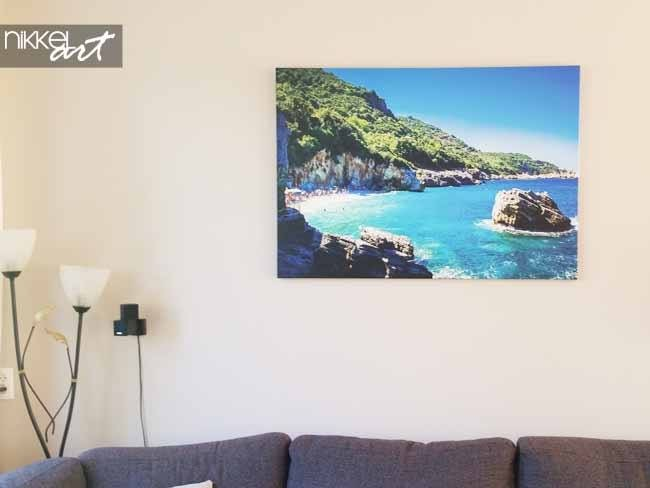 Photo sur Toile Tropical plage