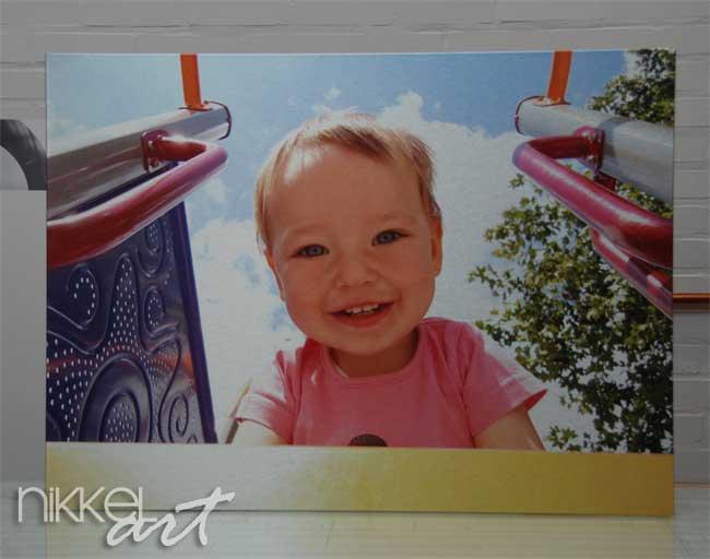 Photo sur aluminium brossé sur votre photo