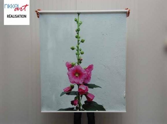 Store imprimé photo Fleur
