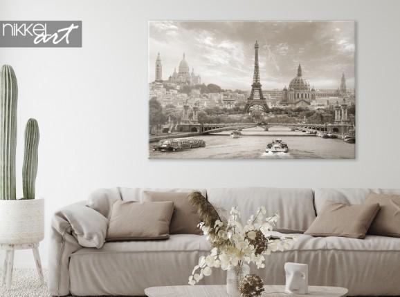 Paris sur toile