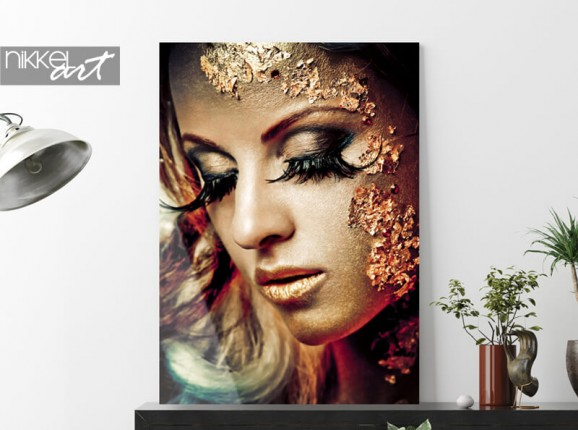 Photo esthétique sur plexiglas