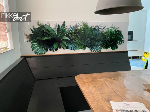 Photo sur plexiglas de feuilles tropicales
