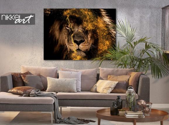 Photo sur alu Fenna van der Vliet - Golden Lion
