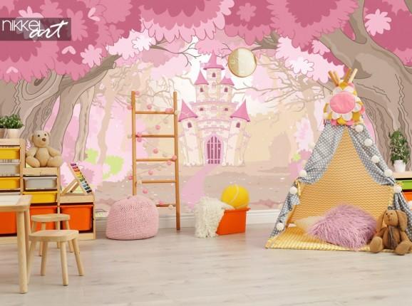 Papiers peints Château magique pour la chambre des enfants