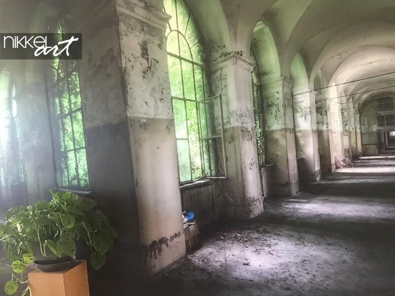 Papier peint photo du sanatorium de Beelitz