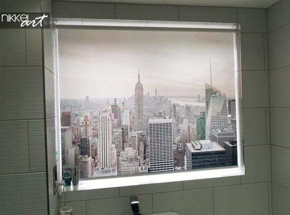 Photo - Store Enrouleur Imprimé Personnalisé New York