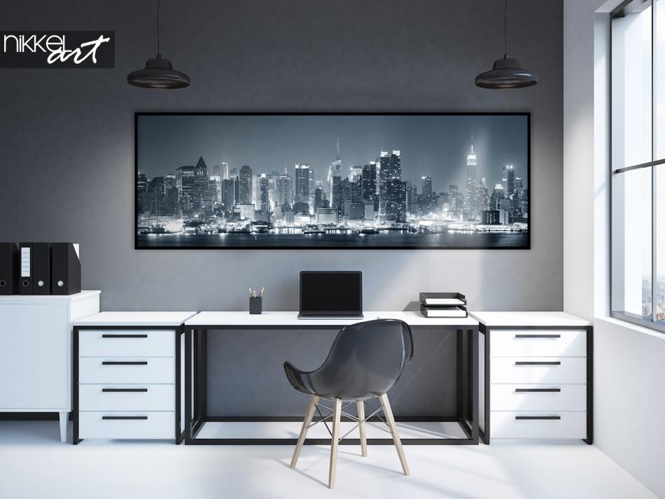 Bureau avec Poster Photo Panoramiques