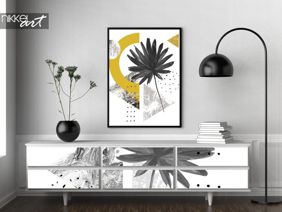 Stickers pour Meubles et Poster avec Photo D Impression Graphique