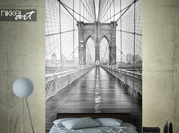 Papier peint photo Brooklyn Bridge