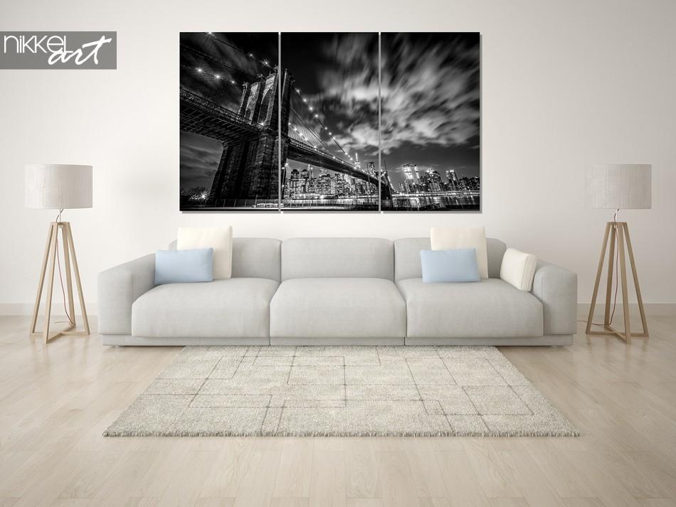 Photo sur Plexiglas New York en noir et blanc