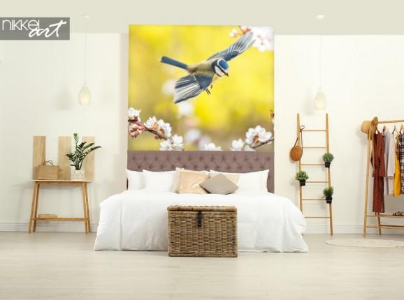 Chambre Sticker Muraux avec Oiseau