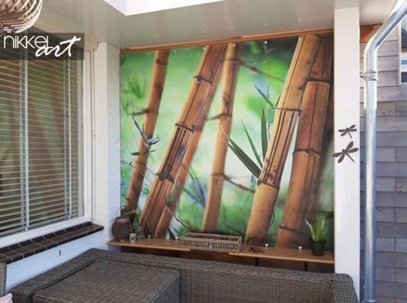 Photo sur poster de jardin du bambou