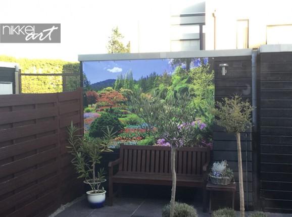 Photo sur poster de jardin des Butchart Gardens