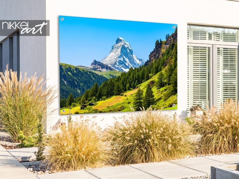 Poster de jardin de la montagne du Cervin